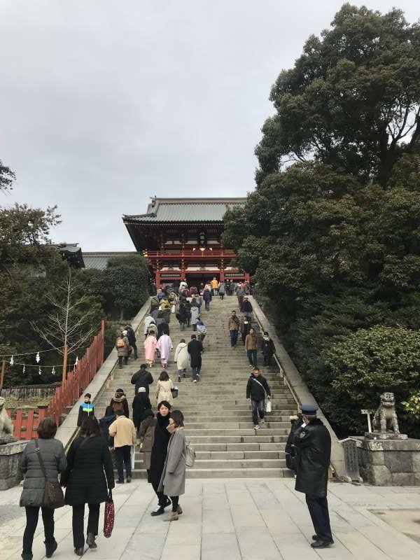Santuario Tsurugaoka-hachiman(Kamakura)