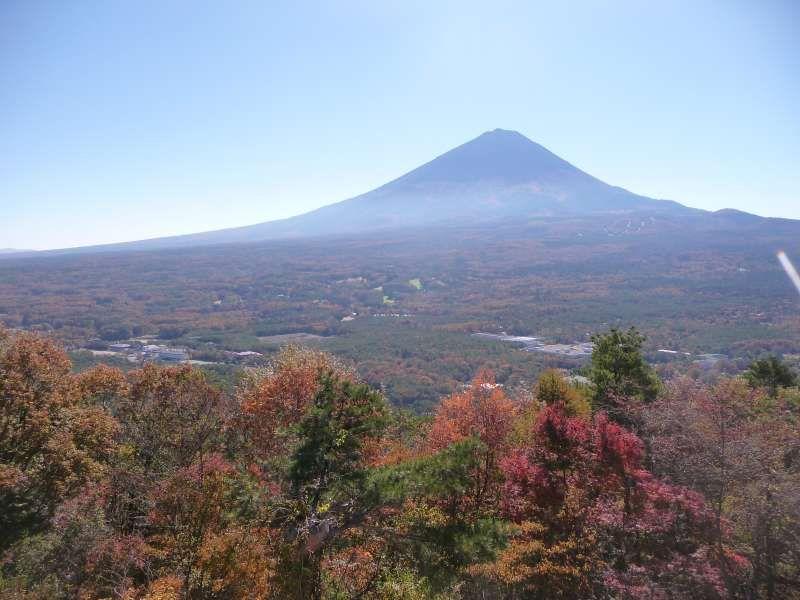 Mt. Fuji from Koyo dai.