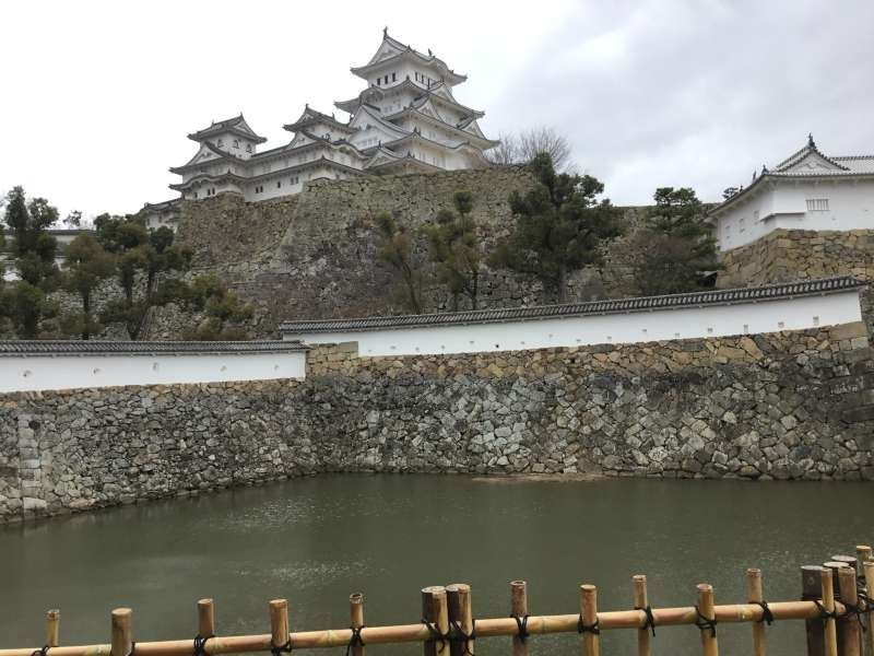 Himeji castle the best famous castle of Japan located in Hyogo prefecture