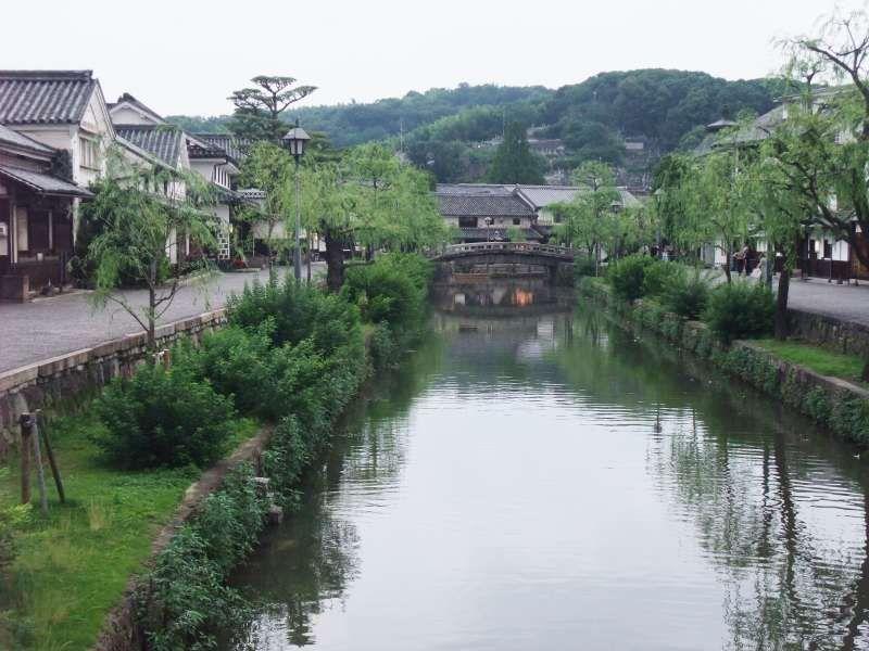 Bikan historical quarter in Kurashiki