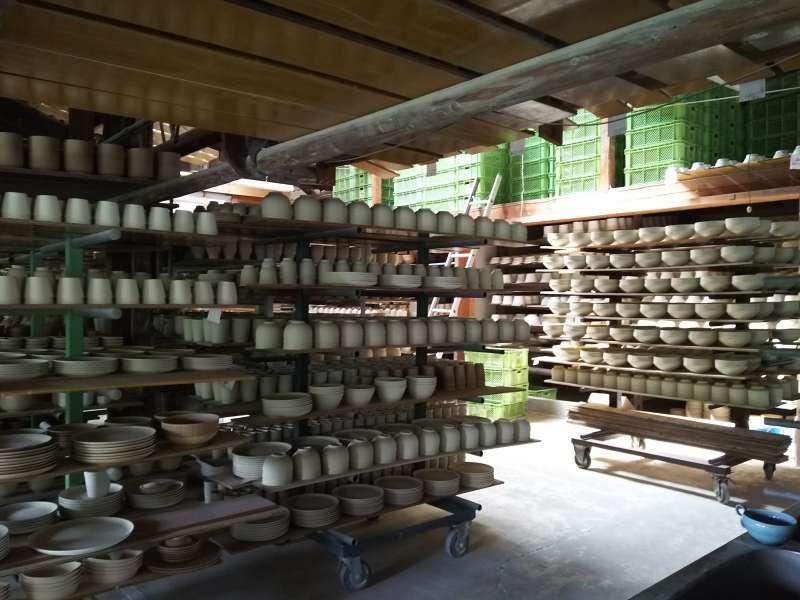 Porcelain studio in Arita