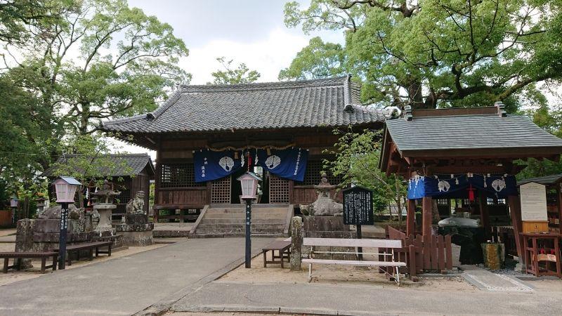 Toyotama-Hime Shrine in Ureshino