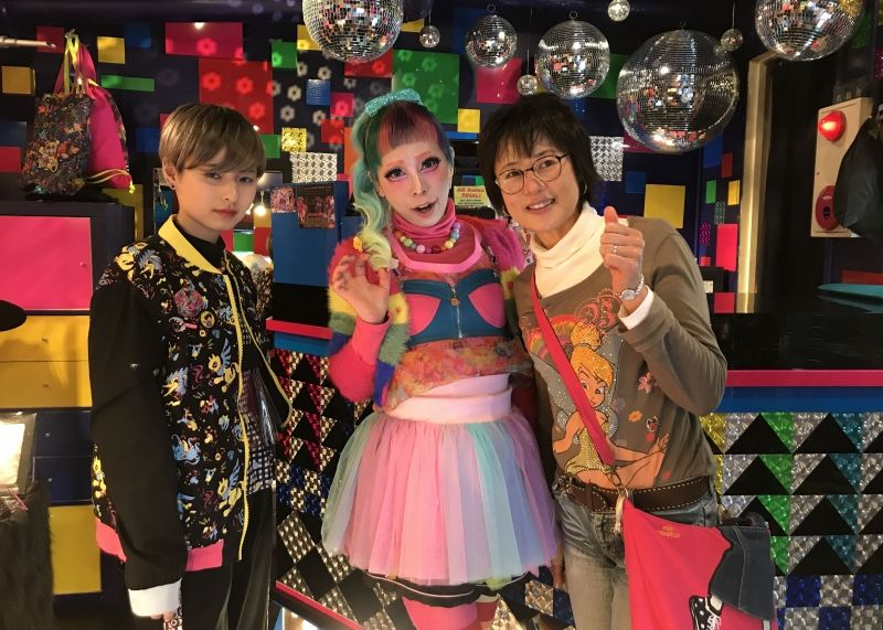 An explosion of color and ultimate cuteness  in Harajuku