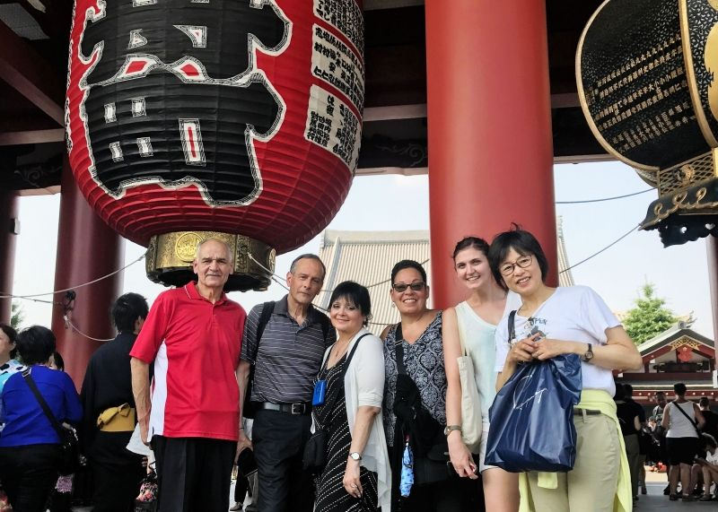 Asakusa is the most popular place among my guests.