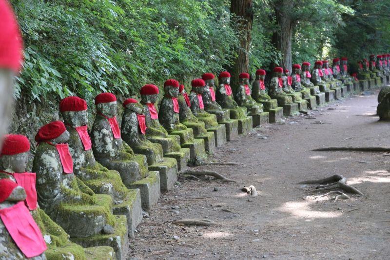 Narabi Jizo in Nikko.