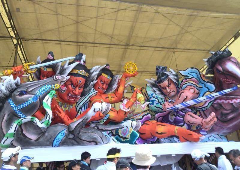 Nebuta Festival, August 2 - 7, in Aomori City, Aomori Prefecture
