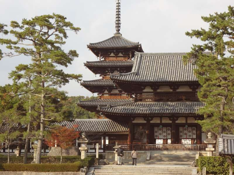 Horyuji temple: Spirit of Prince Shotoku