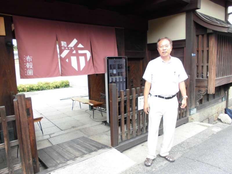 Restaurant near Horyuji temple