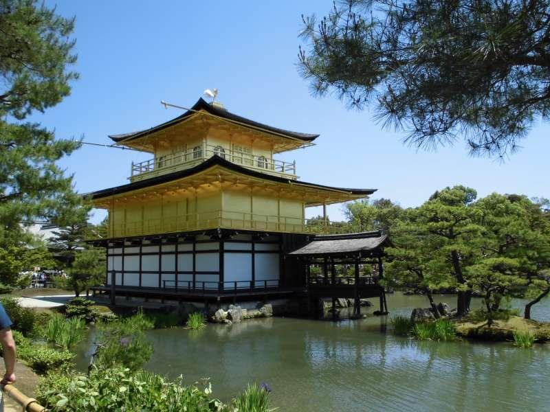 Kyoto Kinkakuji Temple -- Golden Pavillion