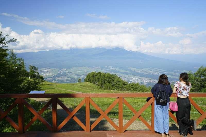 Yatsugatake mountains
