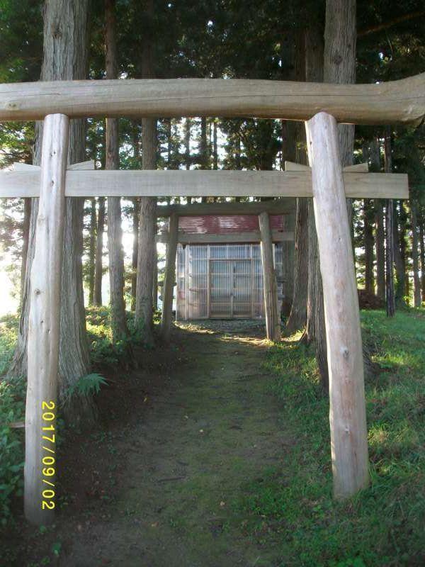 Torii Gate to Local Shrine