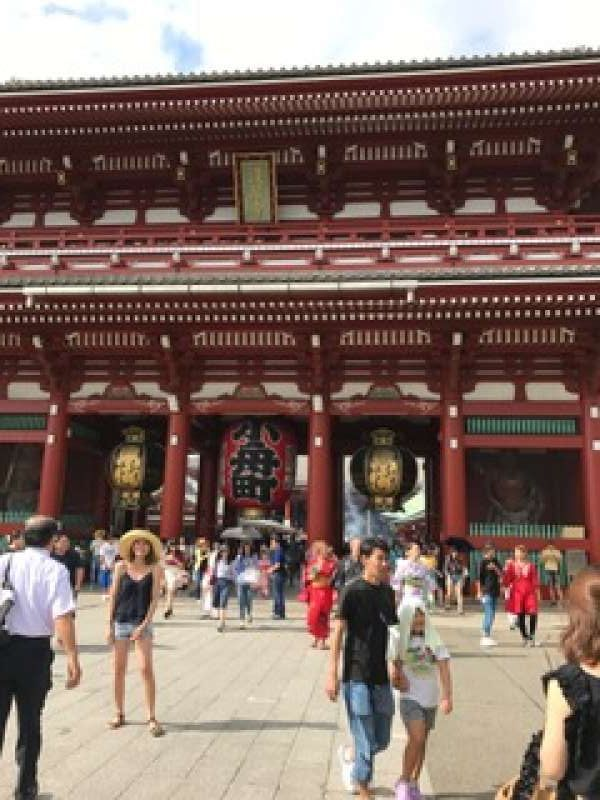 Asakusa Sensoji Buddhist temple