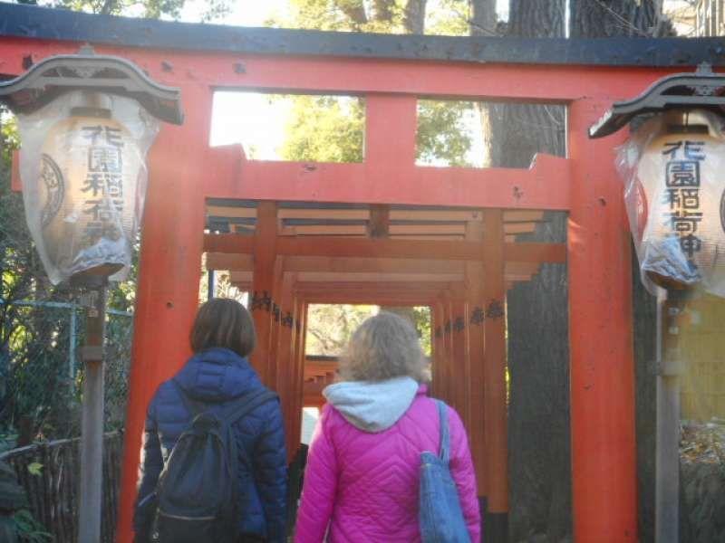 Hanazono Shrine in Ueno Park