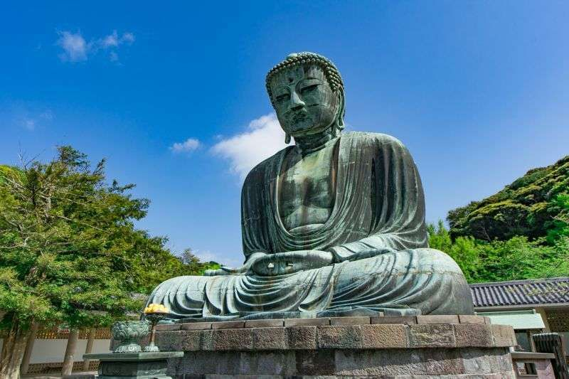 Great Buddha in Kamakura Let's tourist enjoying