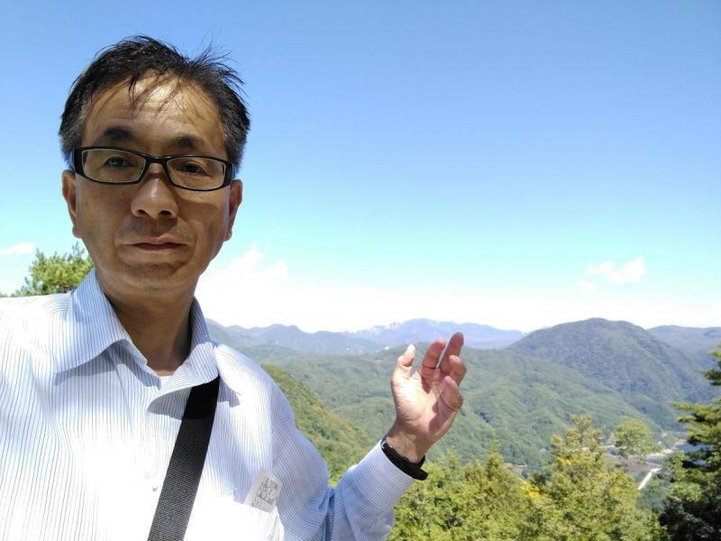 My favorite is travel. I have traveled all over Japan. This photo is Shosen-kyo gorge in Yamanasi.