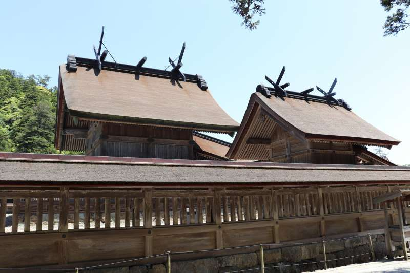 Main shrine of Izumo Taisha shrine in Izumo City ,Shimane Pref.
