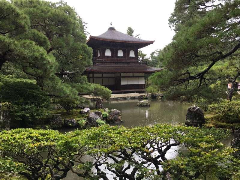 Ginkakuji temple or Silver Pavillion