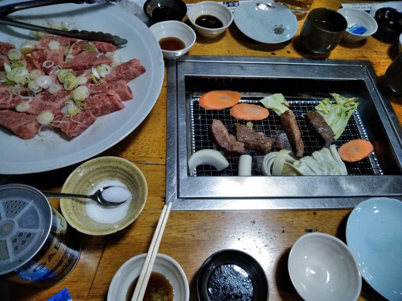 What makes Hida beef special? Its marbling through the beef which gives the beef tenderness! (Takayama)