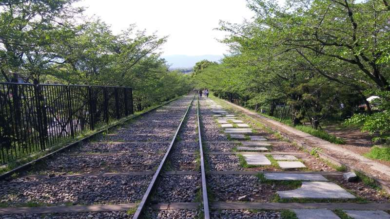 Keage Incline (Relic of ship conveyer in canal from lake Biwa)
