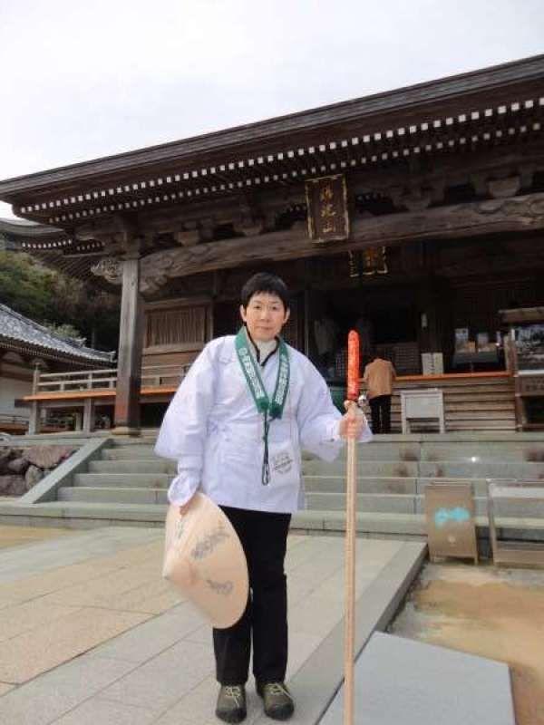 I go on a pilglim to Shikoku 88 temples