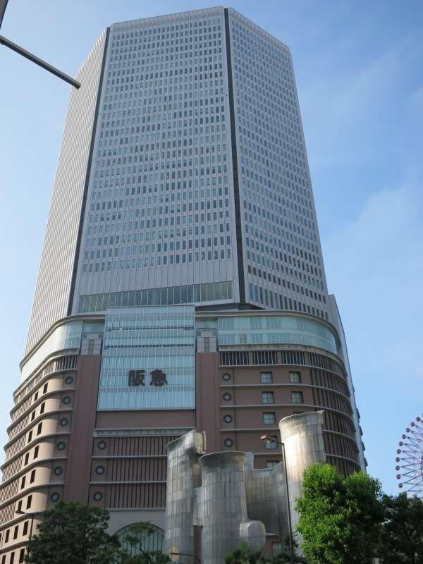 在梅田最有名的百货店