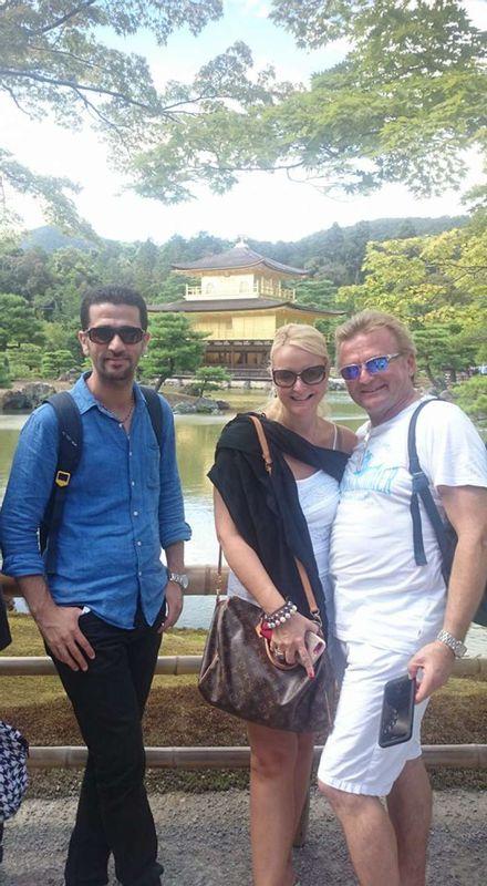 Lets enjoy Kinkakoji together..