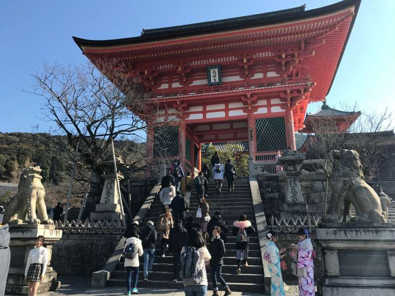 Famous temples in Kyoto