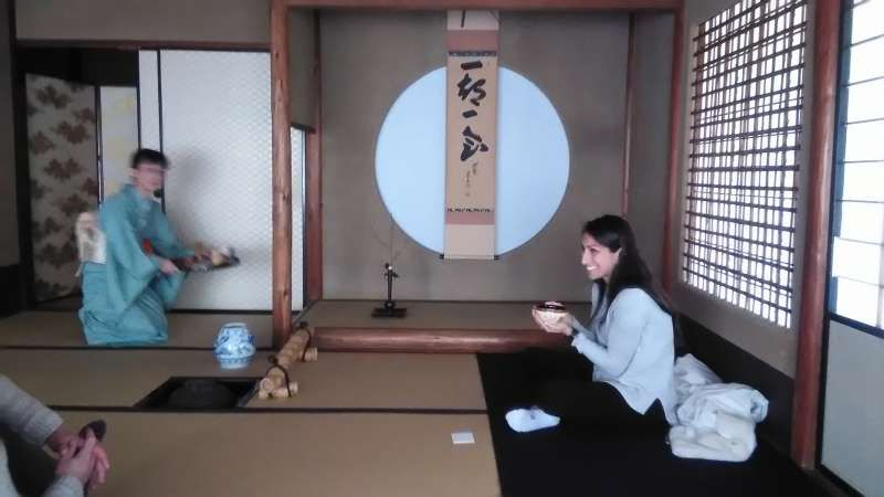 Tea ceremony:  If you come to Kyoto, why don't you experience this ?