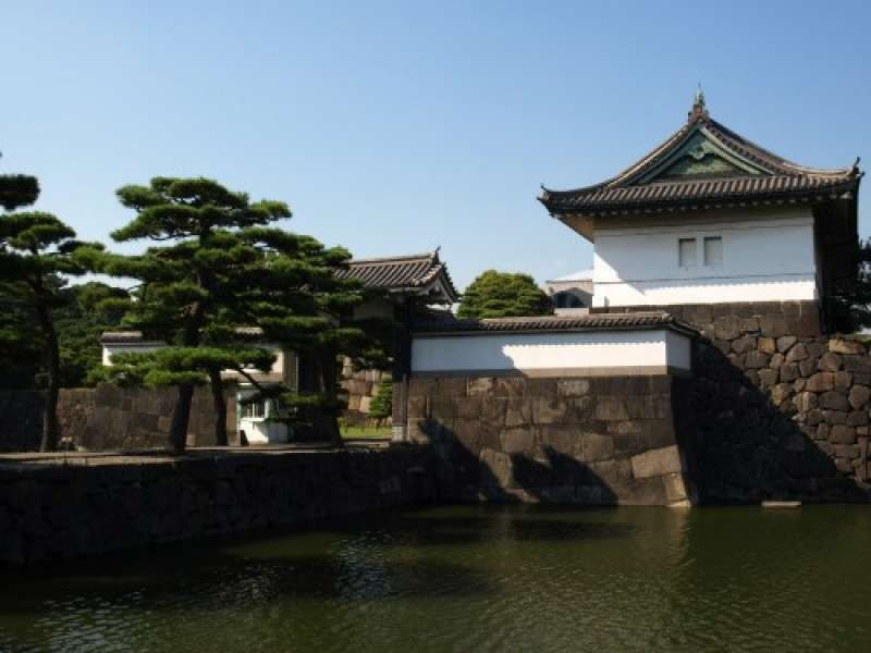 One of the Gates of the Imperial Palace