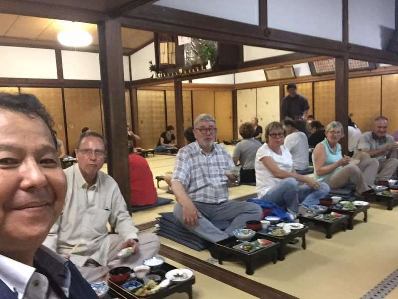 Koyasan is a sacred place for Japanese Buddhism.
