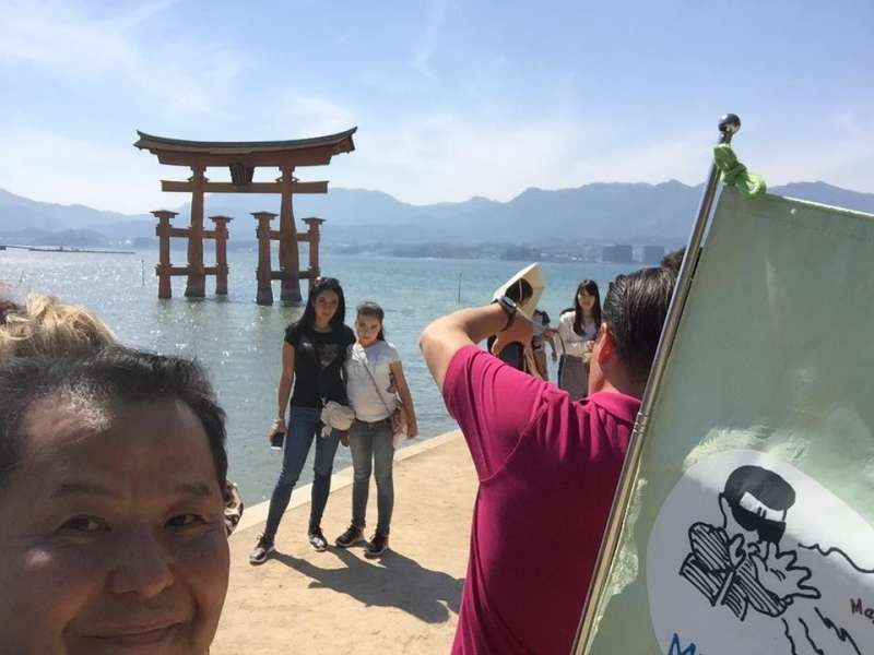 Miyajima is regarded as one of the three most famous scenic locations in Japan. Miyajima, which means