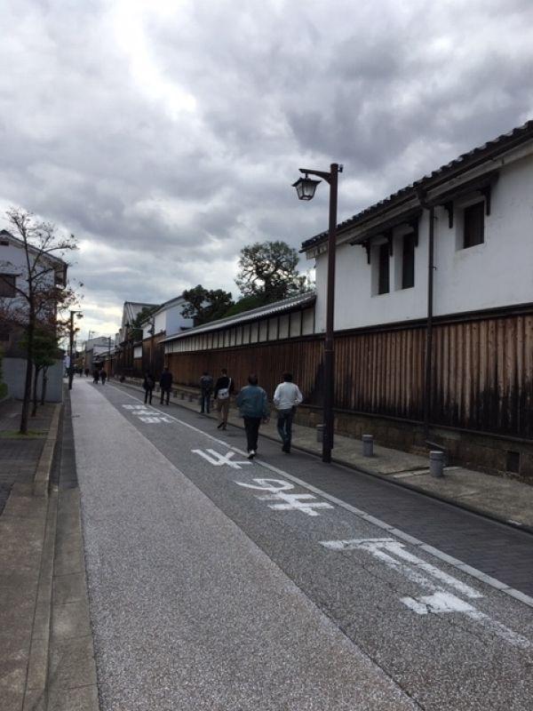 One of 20 plus Japanese Sake breweries at Kyoto's Fushimi