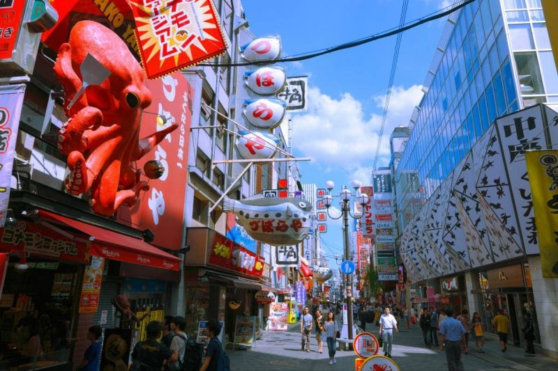Dotombori downtown Osaka
