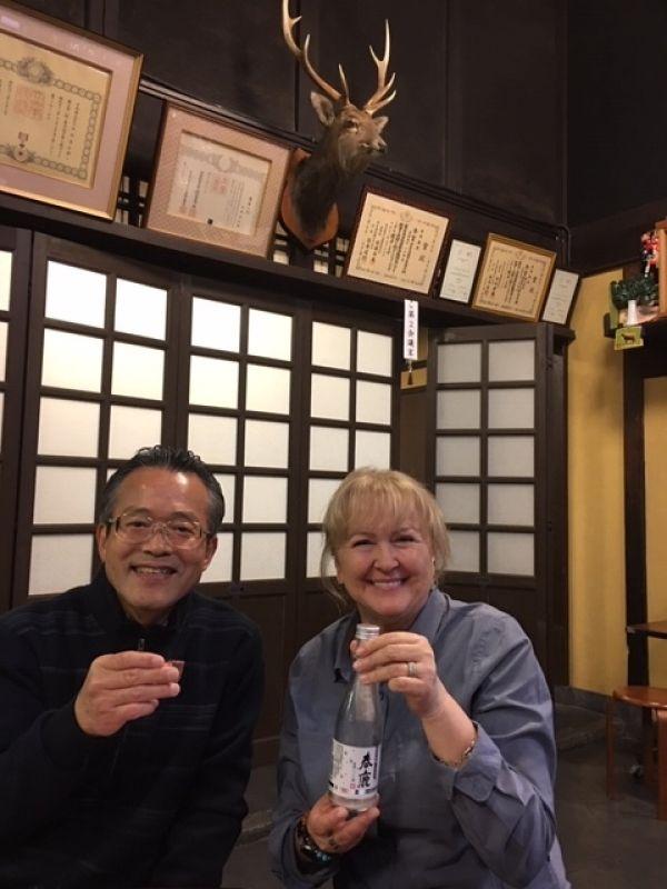 Would you like some Sake? .... Why not sake tasting at Nara Sake brewery? ....