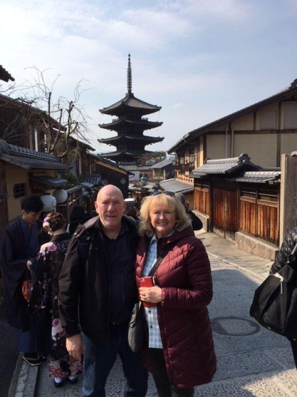 Kyoto's 5-story pagoda near Kiyomizudera Temple