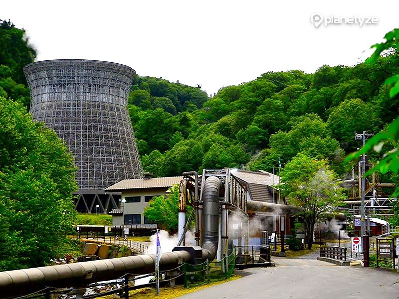 Matsukawa Geothermal Plant