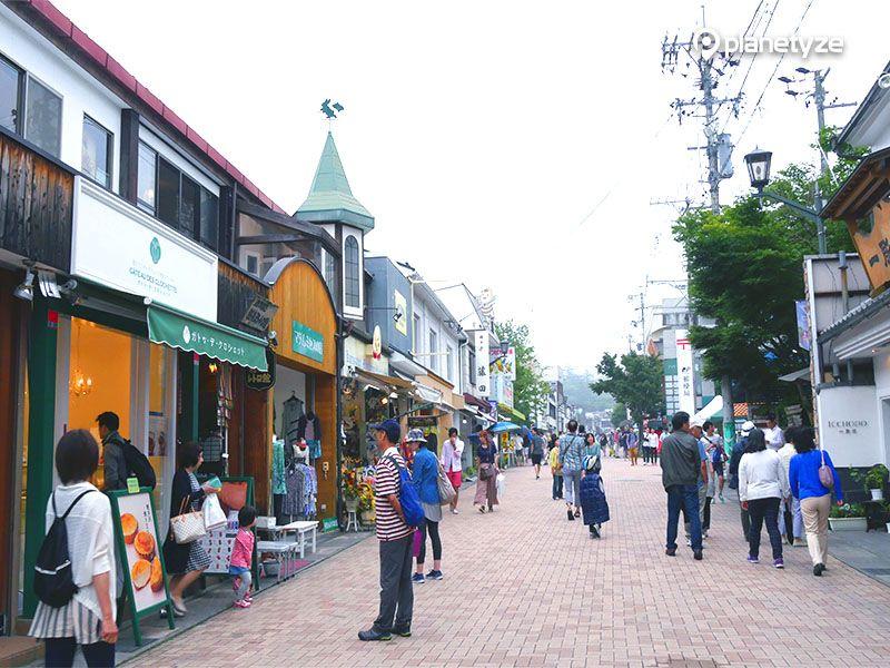 Kyu-Karuizawa Ginza Street