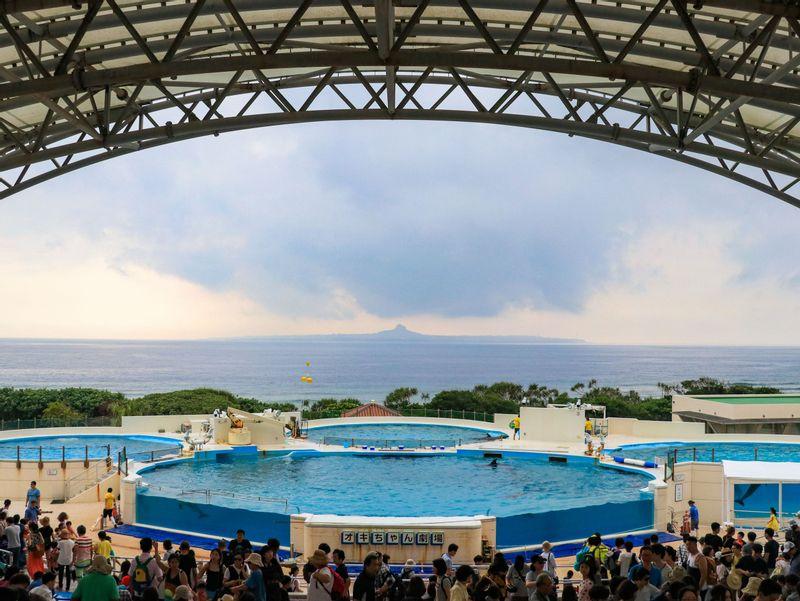 Ocean Expo Park Okichan Theater