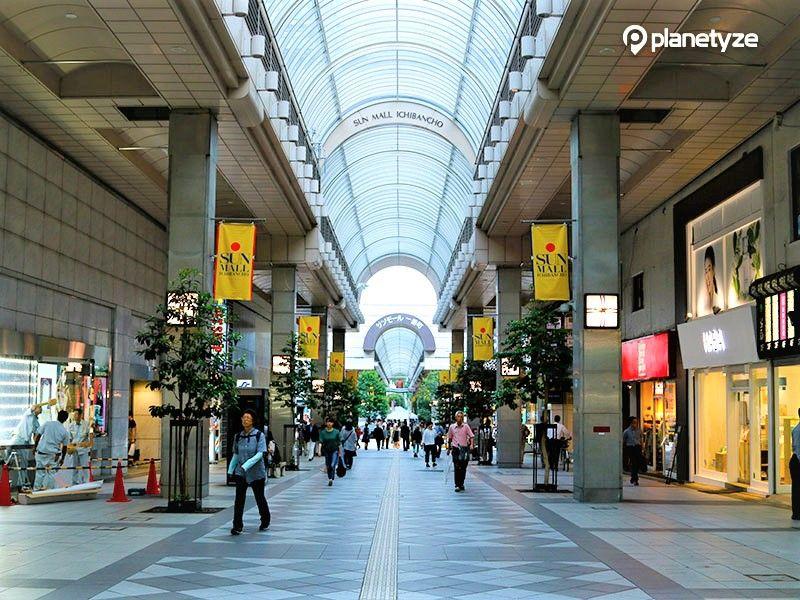 Sun Mall Ichibancho Shopping District