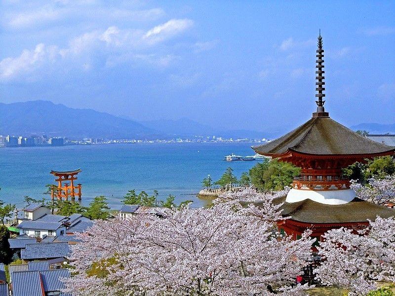 Tahoto Pagoda of Miyajima