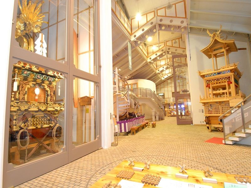 Hida-Furukawa Festival Exhibition Hall