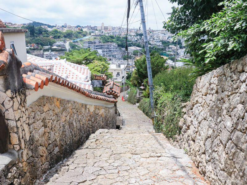 The Cobblestones of Kinjo Town