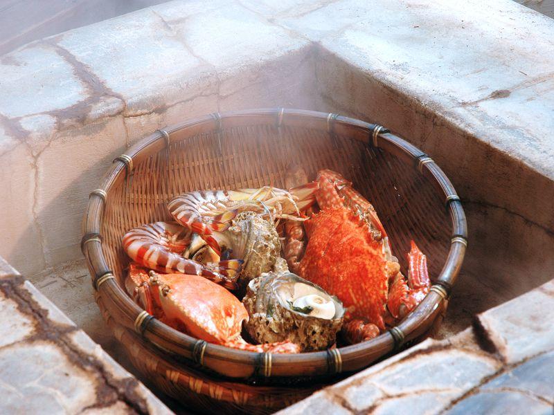 Jigoku (Hell) Steamed Cuisine