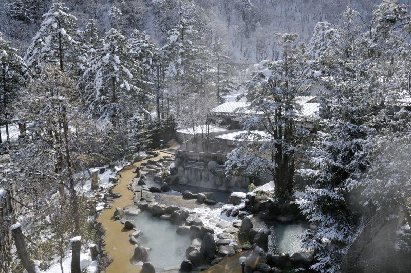 Oku-Hida Onsen Village