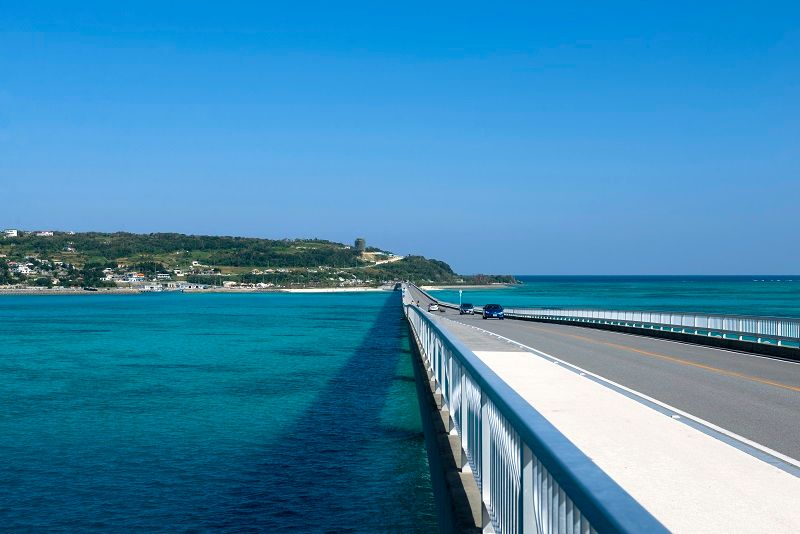 Kouri Bridge/Kouri Island