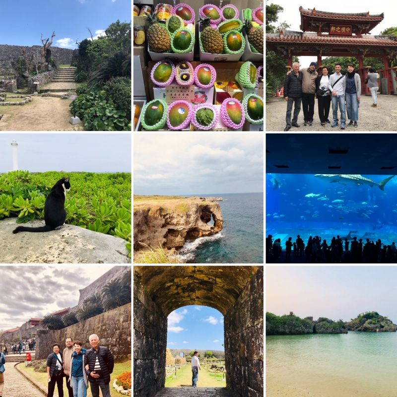 OKINAWA is my ancestors land. It has a very unique culture and subtropical climate!