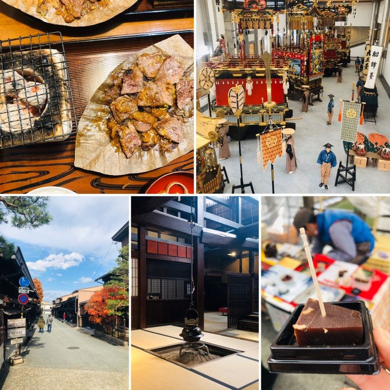 TAKAYAMA is famous for the Hida beef and the Takayama Festivals (Central Japan).