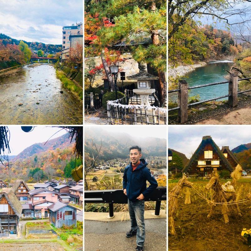 SHIRAKAWA-GO is a World Heritage village in Central Japan.
