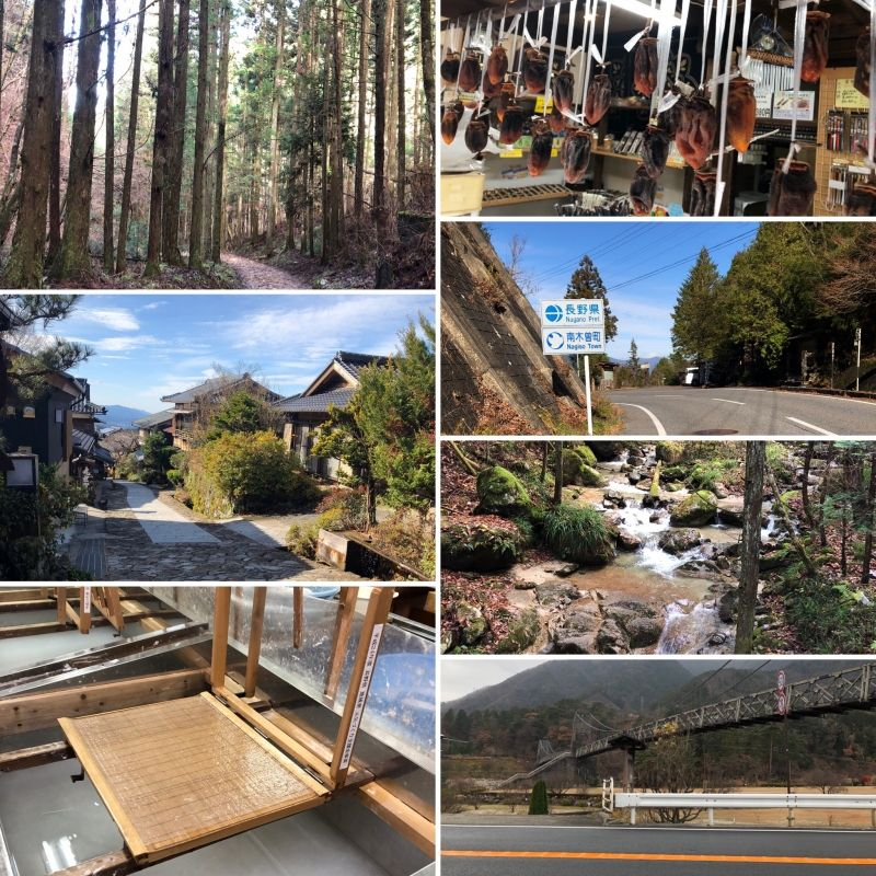 NAKASENDO is an old trail used to travel from old Kyoto to Edo (Tokyo)!