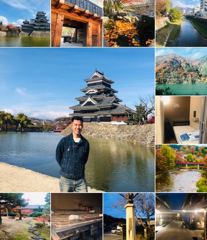 MATSUMOTO is about 3 hours from Tokyo and can be considered the gateway to Central Japan area.